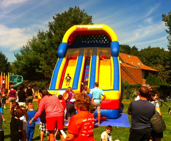20ft Dual Lane Giant Slide